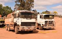 Euro Exiles (ekawrecker) Tags: tipper bogie 6x4 truck lorry classic trilex