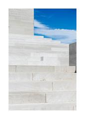 Scala (godelieve b) Tags: white blanc escaliers escaleras stairs france mémorialcanadiendevimy architecture minimal formes shapes lines lignes extérieur outside nobodyisthere