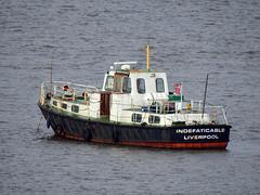 DSCN3094 (Darren B. Hillman) Tags: indefatigable royalnavy harbourlaunch tender rivermersey bromborough anchored nikon p900