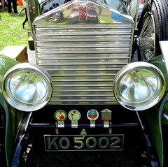 Rolls Royce Grill   Oswerstry Show Ground August 2018 (mrd1xjr) Tags: rolls royce grill oswerstry show ground august 2018 sony hx60v