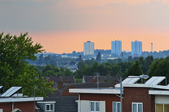 Wolverhampton Sunset From Bentley, Walsall 14/07/2018 (Gary S. Crutchley) Tags: uk great britain england united kingdom urban town townscape walsall walsallflickr walsallweb black country blackcountry staffordshire staffs west midlands westmidlands nikon d800 willenhall darlaston bentley wolverhampton evening raw