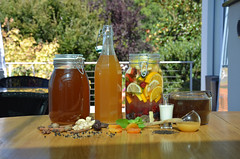 Общая_напитки-DSC_1980 (info@oxumoron.com) Tags: напитки refreshments getränk лемон lemon zitrone ginger ingwer erdbeeren strawberry мёд honey honig корица cinnamon zimt