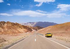 Taxi to Kerman, Iran (TeunJanssen) Tags: kerman kaluts desert iran road roadtrip taxi clouds backpacking travel traveling worldtravel olympus omd omdem10