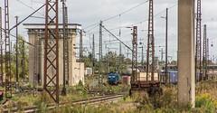 19_2018_09_22_Leipzig_Engelsdorf_ES_64_F4_-_xxx_mit_langschienenzug_PRESS_294_xx (ruhrpott.sprinter) Tags: ruhrpott sprinter deutschland germany allmangne nrw ruhrgebiet gelsenkirchen lokomotive locomotives eisenbahn railroad rail zug train reisezug passenger güter cargo freight fret db press dispo mrcedispolok 3290 3294 3362 3363 6145 6152 6155 6185 6187 6189 asf 49 62 es64f4 stellwerk formsignale truck trabbi logo natur outddor graffiti prellbock
