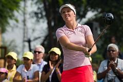 Noora Komulainen of Finland during the final round (Ladies European Tour) Tags: komulainennoorafin newdelhi india ind