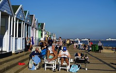 So British Southwold (pocahontas1975) Tags: southwold suffolk walberswick river sea walk sunny britain sand beach church village