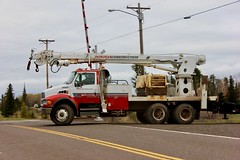 Donovan Construction Crane Truck (ironmike9) Tags: minnesota truck crane construction crossing railroad