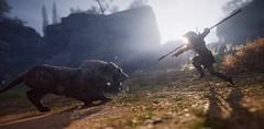 To face destiny (AgtMorganCreed) Tags: assassinscreedodyssey assassin assassins lion kassandra