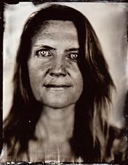 Elaine (fitzhughfella) Tags: wetplate tin tintype tinplate collodion silvernitrate ether kodakaeroektar graflexspeedgraphic