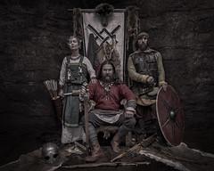 Vikings Conquer Florida! (gimmeocean) Tags: photoshopworld2018 photoshopworld vikings cosplay cosplayers sword shield arrows helmet weapons weaponry composite wyrdbrothers hyattregencyorlando orlando florida