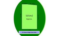 Lot 5526, 25 Power Ridge, Oran Park NSW