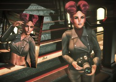 147 ♥ (SoliCaproni) Tags: hu event secret poses pose fair female bento tableau vivant laq skin head
