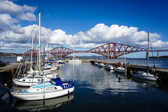 South Queensferry Harbour (p.mathias) Tags: forth forthbridge harbour boat boats river scotland queensferry port