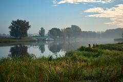 Poranek (Kosmi88) Tags: poranek polska poland głowno europa nikon d5300 natura woda rzeka jezioro lake sky clouds chmury autumn