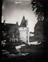 Castle (MoonCCat) Tags: château castle speedgraphic polaroid55