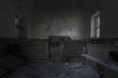 T H E : D E C L I N E (A N T O N Y M E S) Tags: antonymes abandoned interesting derelict explore chapel religion empty destroyed abandonedchapel abandonedreligion derelictbuilding derelictchapel urbex urbanexploration decay decayed broken rust old deserted unloved unused dark creepy decaying canon 70d hall