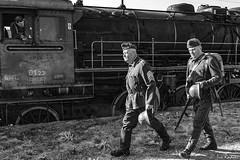 DSC_6162 (Rivo 23) Tags: bdz bulgarian state railways steam locomotive 0123 dampflok world war 2 event reconstruction ww2 battle bulgaria germany historic 1944 september операция девебаир гюешево втора световна война битка парен локомотив влак българска войска