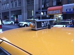 NYPD Undercover Taxi Antenna (Evan Manley) Tags: