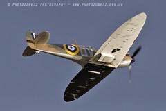 7347 Spitfire N3200 (photozone72) Tags: canon canon7dmk2 canon100400f4556lii 7dmk2 aviation aircraft duxford iwmduxford spitfire warbirds wwii