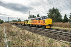 37421. Botany Bay. (Alan Burkwood) Tags: ecml retford botanybay colas 37421 worksopdoncasterdecoy freight engineers diesel locomotive