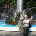 Lugano, Fountain on Piazza Manzoni