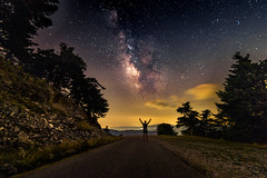 Milky Way (Vagelis Pikoulas) Tags: stars star milky way galaxy summer longexposure 2018 canon 6d tokina 1628mm view night nightscape landscape photography vilia kithaironas greece europe mountains mountain