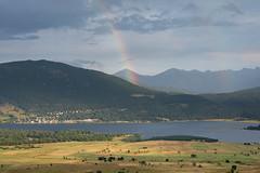 Lac de Matemale (Elisabeth Lys) Tags: pyrénéesorientales lesangles lac matemale nikon d7200 arcenciel rainbow nature landscape