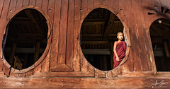 Monk at the Shwe Yan Pyay Monastery (Inle Lake, Myanmar 2013) (Alex Stoen) Tags: 1dx alexstoen alexstoenphotography bagan burma canon canoneos1dx geotagged myanmar natgeo nationalgeographicexpeditions travel vacation