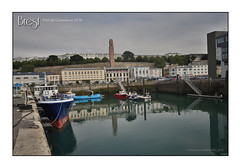 Brest, port de commerce 2018 - Deuxième bassin (porte-plume) Tags: brest port