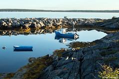 Canada's Atlantic coast (greg luengen) Tags: canada kanada novascotia atlantic see ocean coast boat fishing fisher lonesome isolation blue blau atlantik rugged holidays tourism sonyalpha nex nex6