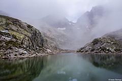 Fog Lifts at Lac Blanc (isaac.borrego) Tags: france chamonix alps frenchalps europe