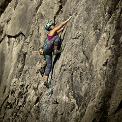 Athletes in Action (Ernst_P.) Tags: arzbergklamm aut österreich telfs tirol nicole sport klettern alpinismus climbing samyang walimex 135mm f20