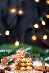 Gingerbread cookies with Christmas spices