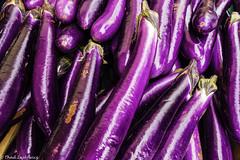 Eggplants (Thad Zajdowicz) Tags: zajdowicz pasadena california usa outdoor outside availablelight leica lightroom food eggplant vegetable color purple colour farmersmarket bright vivid