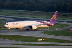 Thai Airways International Boeing 777-3AL/ER HS-TKO (M. Oertle) Tags: thaiairwaysinternational boeing 7773aler hstko