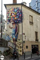 Vinie (Frankhuizen Photography) Tags: vinie rue jean poulmarchquai valmy graffiti street art mural straat fotografie photograpdy parijs paris france frankrijk 2018 space invader spaceinvader