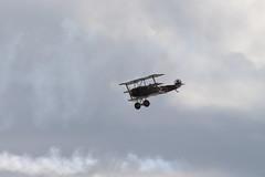 IMG_5213 edit (routemaster2217) Tags: clactononsea clactonairshow clactonairshow2018 airshow airdisplay aviation aircraft aeroplane bremontgreatwardisplayteam biplane triplane wwi worldwarone worldwar1 greatwar