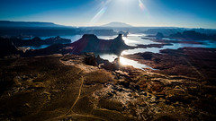 DJI_0055-HDR (Greg Meyer MD(H)) Tags: lakepowell arizona utah alstrompoint aerial drone moon rugged erosion view beauty landscape drama barren desert deserted
