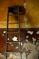 'Servant's Hall II' (andrew_@oxford) Tags: calke abbey national trust unstately home east midlands servants hall ladder decay natural light abstract