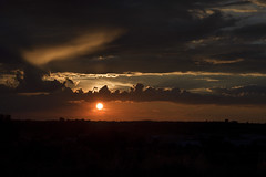 Sunset with clouds and autumn silhouettes (Renato Di Prinzio Fotografía) Tags: background beautiful beauty bright cloud color dusk evening horizon landscape light nature orange outdoor red silhouette sky summer sun sunlight sunrise sunset travel view yellow