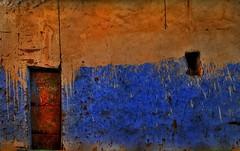 wall (ghadamohammed2004) Tags: egypt aswan nubia walls doors windows colors colorful silence cracks photo photography photostream photos ilovephotography texture
