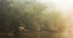 Dreamworlds (benpearse) Tags: hawkesbury river nsw landscape fine art photography ben pearse professional photographer sunrise australia autralian artist blue mountains fog mist