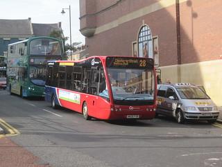 Go North East 8301 (NK09 FVB). Eldon Square Bus Station, Newcastle