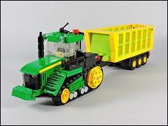 John Deere 9460RT_7 (Kreso007) Tags: lego kockice john deere 9460 rt tractor trailer