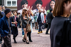 The Best Life Is Zombie Life (burnt dirt) Tags: asian japan tokyo shibuya station streetphotography documentary candid portrait fujifilm xt1 bw blackandwhite laugh smile cute sexy latina young girl woman japanese korean thai dress skirt shorts jeans jacket leather pants boots heels stilettos bra stockings tights yogapants leggings couple lovers friends longhair shorthair ponytail cellphone glasses sunglasses blonde brunette redhead tattoo model train bus busstation metro city town downtown sidewalk pretty beautiful selfie fashion pregnant sweater people person costume cosplay boobs halloween shibuyahalloween