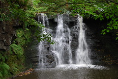 Goit Stock Waterfall (Halliwell_Michael ## Offline mostlyl ##) Tags: harden westyorkshire nikond40x 2018 woods woodland trees stream waterfall
