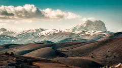 Il Gran Sasso (SDB79) Tags: montagna gran sasso rocca calascio abruzzo paesaggio