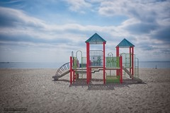Playground Brighton Beach Brooklyn (Eric Gross) Tags: brightonbeach beach shore coast coastline newyorkcity brooklyn playground desolate on1