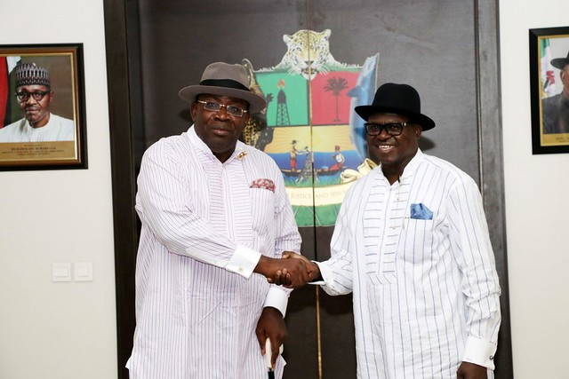 HSDickson- H.E Receives Timi Aliabe Has He Decamps From Apc to PDP. 5th October 2018