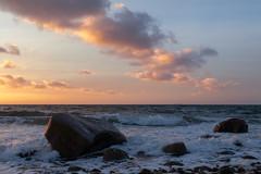 Beach with rocks (Jakob Arnholtz) Tags: knabros klint arnholtz dusk autumn beach denmark odsherred nature panorama landscape landskab danmark